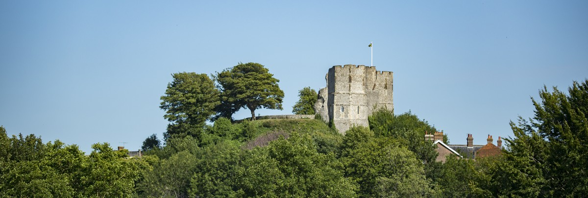 View to Lewes Castle